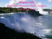 Презентация niagara-falls