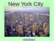 Презентация Нью-Йорк New York