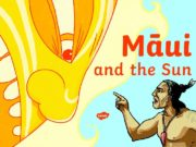 Māori myths are set in the past and