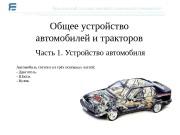 Презентация Общее устройство автомобиля 2 Ярославский университет