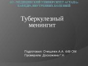 Презентация Очешлюк А