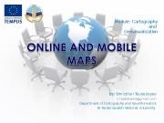 Module: Cartography and Geovisualization By: Omirzhan Taukebayev o.
