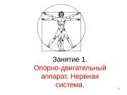 Презентация опорно-двигательный аппарат и нервная система