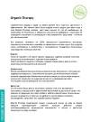 Презентация organic therapy