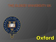 Oxford  There are about 90 Universities in