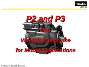 Презентация parker pumppuP2 design presentation