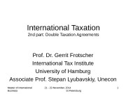Презентация part-2-Double Taxation 2014