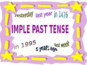 Презентация past simple