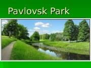 Pavlovsk Park  Pavlovsk Palace  Architect –