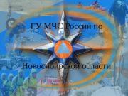 ГУ МЧС России по Новосибирской области  Угарный