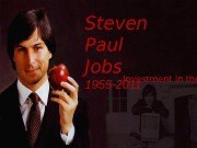 Презентация по англ.яз. Steve Jobs
