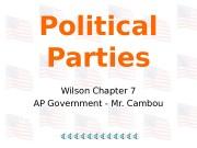Презентация political-parties3383