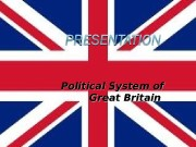 Презентация political system of the uk