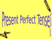 Презентация pr perfect 6 th form