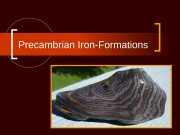 Precambrian Iron-Formations  Iron-formation  Banded iron formations