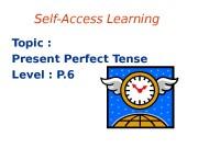 Презентация presen perfect 2