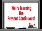 Презентация present-continuous-final