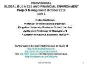 Презентация presentation project management 1