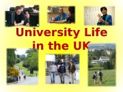 University Life in the UK  How do
