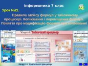 LOGOІнформатика 7 клас Урок № 21 Розділ 4.