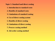 Презентация Презентація Management accounting Topic 3