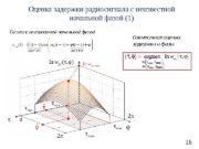 16 Оценка задержки радиосигнала с неизвестной начальной фазой