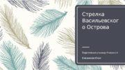 Стрелка Васильевског о Острова Подготовила ученица 9 класса