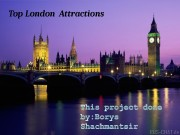 Презентация prezentaciyа top london attractions
