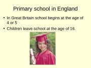 Primary school in England  • In Great