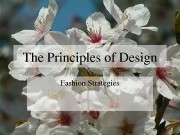 Презентация principles of design