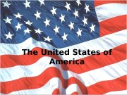 Презентация project the USA