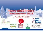 AUDAX CLUB PARISIEN PARIS-BREST-PARIS Randonneur 2015 17 janvier
