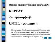 Презентация repeat