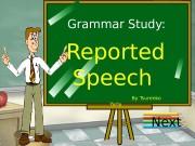 Презентация reported-speech-130809114111-phpapp01