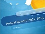 Презентация rewards ppt