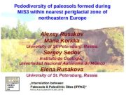 Pedodiversity of paleosols formed during MIS 3 within