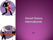 Social Dance International   2011