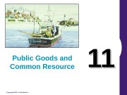 Copyright© 2004 South-Western 1111 Public Goods and Common