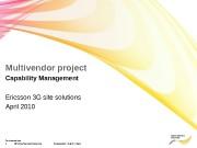 1 © Nokia Siemens Networks  Presentation /