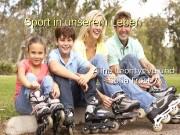 Sport in unserem Leben Alina Leontyeva und Sofia