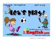 Презентация sports play