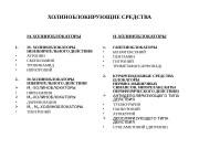 Презентация Справочный материал по Фармакологии на тему Холиноблокаторы. Л.А. Овсянникова