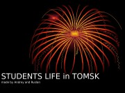 STUDENTS LIFE in TOMSK  made by Andrey