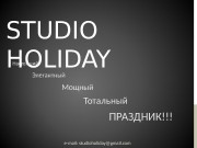 STUDIO HOLIDAY  e-mail :  studioholiday@gmail. com.