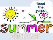 Презентация summer memory