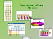 Презентация Таблицы Excel