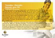 Презентация Тарифы «Билайн» Бизнес для FM GROUP Россия