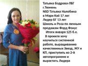 Татьяна Бодрова-ЛБГ г. Тюмень NSD Татьяна Налобина в