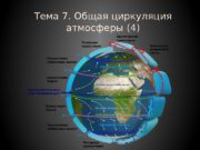 Тема 7. Общая циркуляция атмосферы (4)  ОБЩАЯ