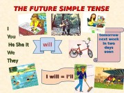 THE FUTURE SIMPLE TENSE II You. You